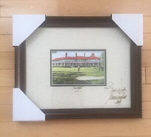 """Walter Campbell """"The Putt"""" Framed & Signed Print"""