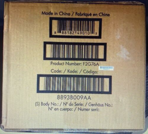 Genuine OEM F2G76A Hp M604N 110V Maintenance Kit Resale Condition Factory Sealed