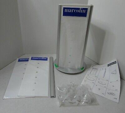Marcolin 18 Pair Eyeglasses Rack Countertop Spin Display 17.5h X 9.5l X 9.5w