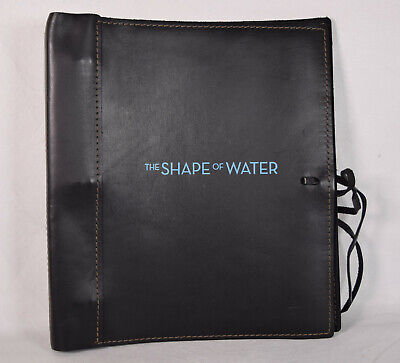 Shape Of Water Screenplay Script FYC Signed Guillermo Del Toro Vanessa Taylor