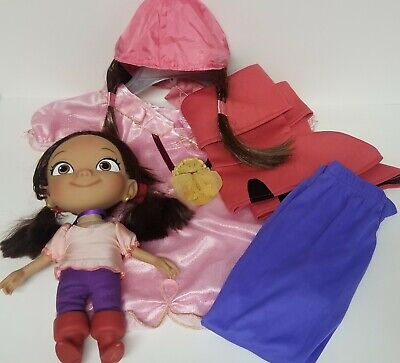 Izzy from Jake & Never Land Pirates Costume and Doll 12