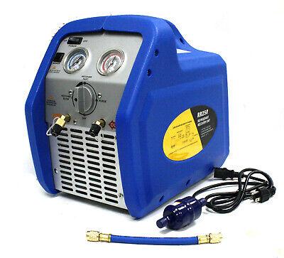Rr250 Portable Ac Refrigerant Recovery Machine 34hp 4 R410a R134a R12 R22 Hvac