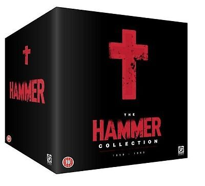 The Ultimate Hammer - Collection Christopher Lee, Peter Cushing New Region 2 DVD - Ultimate Hammer