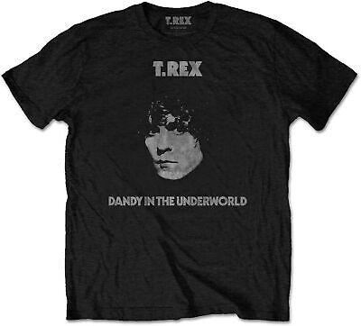 T.REX MARC BOLAN Dandy In The Underworld T-SHIRT OFFICIAL MERCHANDISE (T-rex Merchandise)