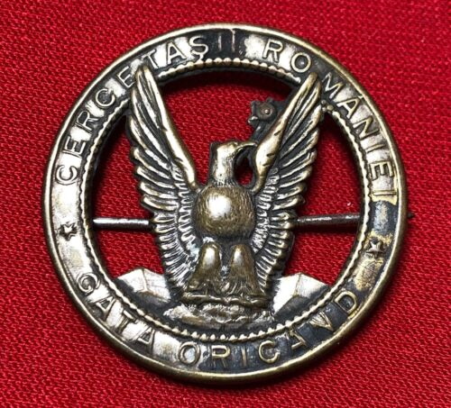 Romania Kingdom - Boy Scouts badge 1914 model