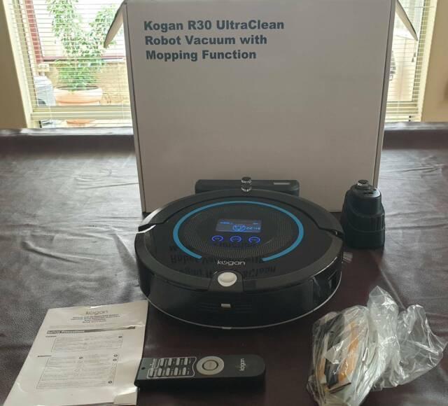 Kogan Robot Vacuum Cleaner with Mopping Function - Vacuum ...