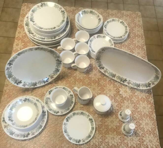 Noritake barossa vintage progression china set 36 pc pattern 9011 1 of 7 fandeluxe Images