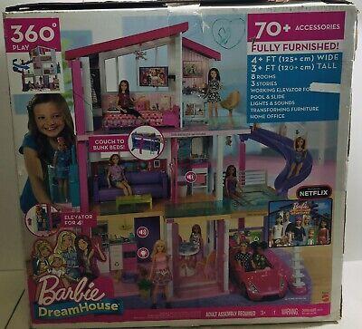 Barbie Dreamhouse Dollhouse with Pool, Slide and Elevator NIB