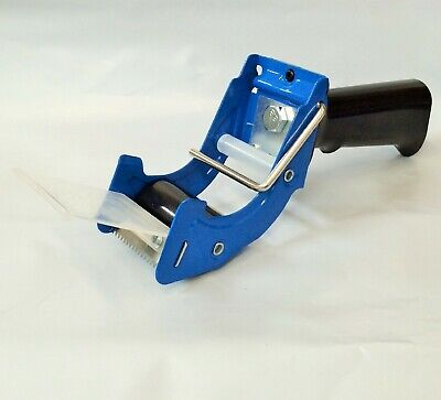 2 Inch Tape Gun Dispenser Packing Packaging Sealing Cutter Blue.