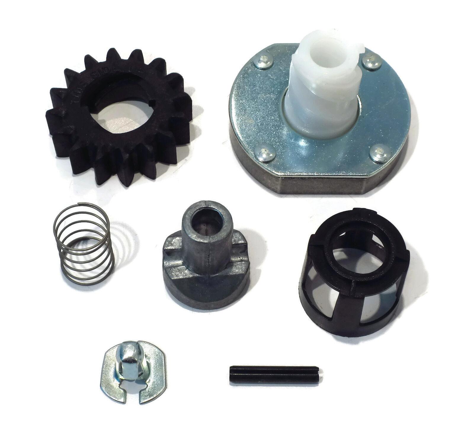 Electric Starter Bendix Drive Gear Kit W// Roll Pin Fits Briggs 495878 696540