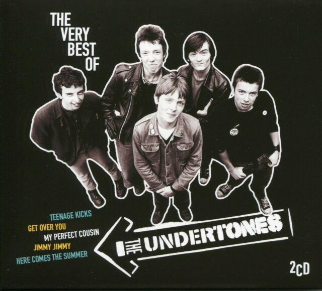 THE VERY BEST OF THE UNDERTONES - 2 CD BOX SET TEENAGE KICKS, JIMMY JIMMY & MORE