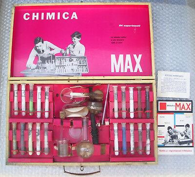 VINTAGE GIOCO GAME PICCOLO CHIMICO ANNI 60