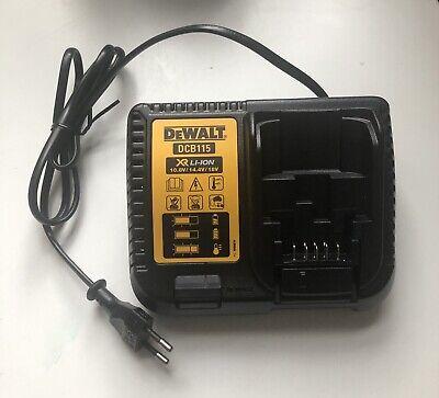 DeWalt DCB115 XR Multi Voltage Li-Ion Battery Charger 10.8v - 18v (EU...