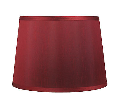 "Urbanest French Drum Lamp Shade,12""x14""x10"",Faux Silk, Spide"