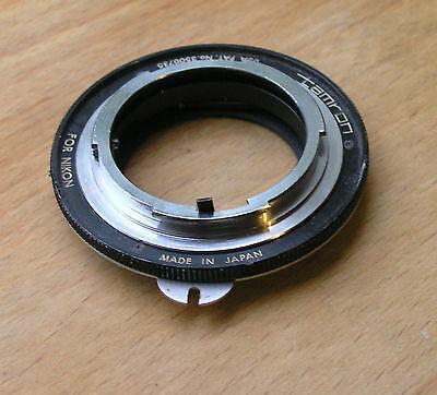 original early Tamron Adaptall mount for Nikon F & nikkormat etc