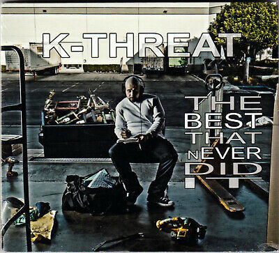 K-THREAT The BEST THAT NEVER DID IT Rap HIP HOP Music ALBUM on a CD of POP