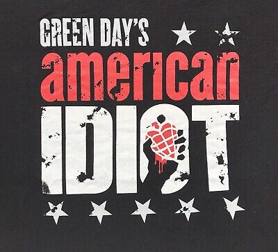 Green Day Shirt (XXL) American Idiot
