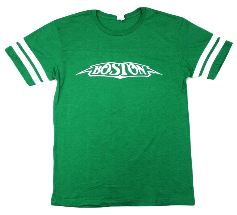 Boston 2016 40th Anniversary Tee Tour Concert Exclusive - Green - L