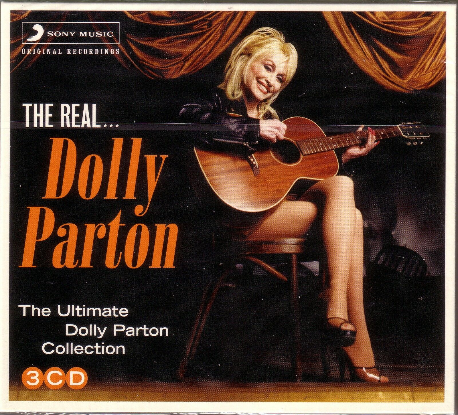 3 CD (NEU!) . Best of DOLLY PARTON (Jolene 9 to 5 Islands in the Stream 55 Titel
