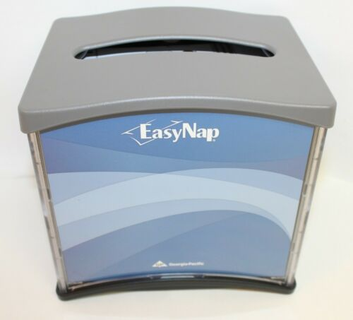 Heavy Duty EasyNap Georgia Pacific 54527 Table Top Napkin Dispenser Gray Black