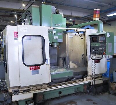 Okk Model Pcv-51010l Cnc Vertical Machining Center With Mits M330 Control-1990