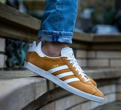BNWB & Genuine Adidas Originals ® Gazelle Mesa Suede Trainers UK Size 8