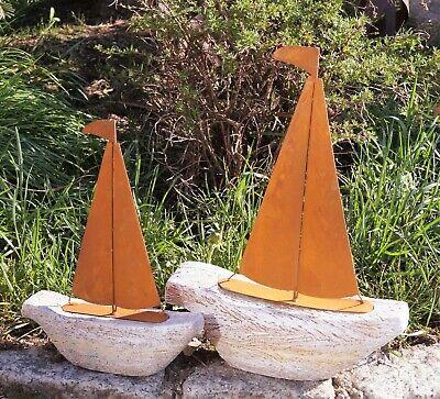 Größen Handarbeit Schiff Garten Dekoration Maritim (Boot Dekorationen)