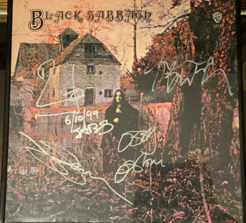 BLACK SABBATH Signed Album - Original Band OZZY TONY GEEZER BILL OZZFEST 1999