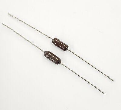 Lot Of 2 Clarostat Vc3d 600 Ohm 3 Watt Wirewound Power Resistors 3w