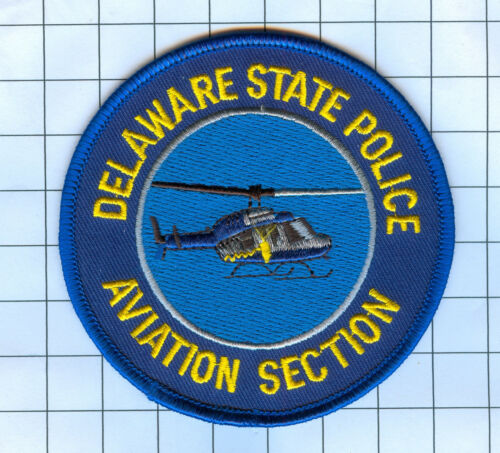 Police Patch - Delaware State Police Aviation Section - 3 1/2""