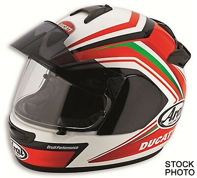 NEW Medium Ducati Corse SBK V2 Pro Full Face Helmet (Arai Vector-II Pro)