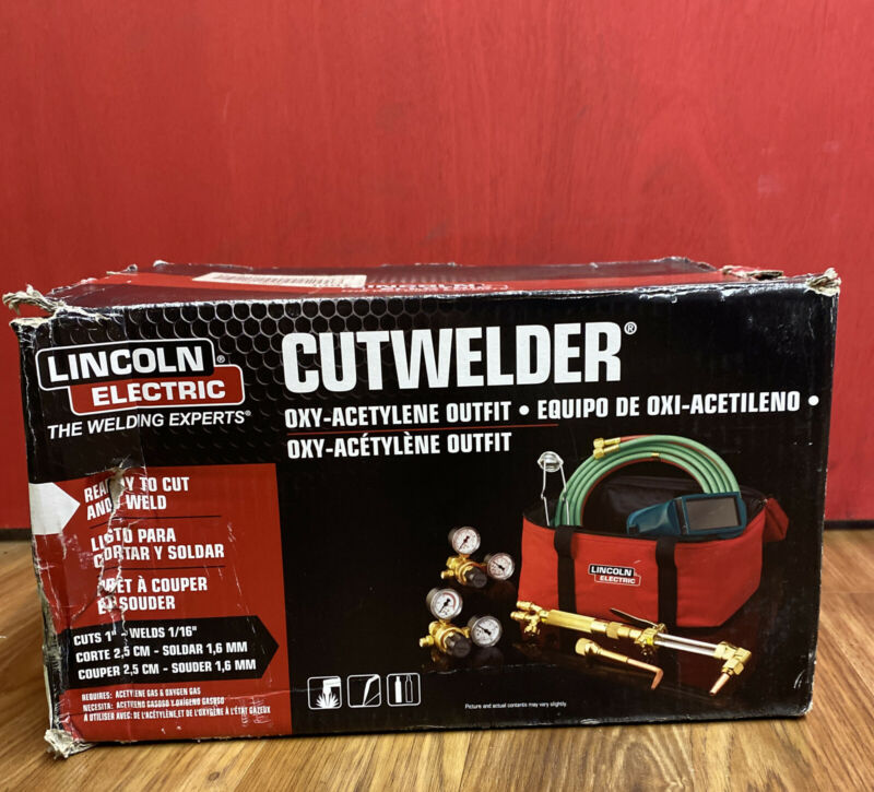 Lincoln Electric KH995 Cut Welder Kit with Oxy-Acetylene Outfit NEW!!!