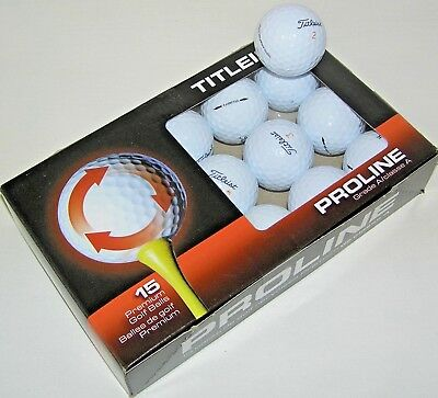 15 Titleist Velocity golf balls Grade AAAAA best balls LOT