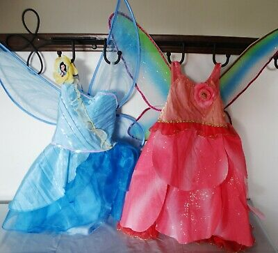 Silvermist Fairy Costume (Girl's 4  Fairy costume dress w wings: Disney Store ROSETTA or)