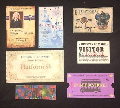 For Harry Potter Luna Lovegood Halloween Costume Hogwarts ID Exp. Ticket Prop++](Halloween Costume Harry Potter)