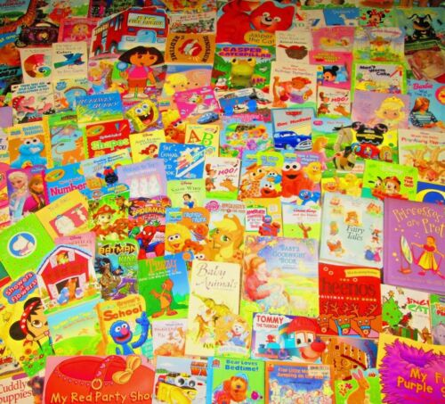 Children's Board Book Lot KIDS/DAYCARE/TODDLER/PRE-SCHOOL/READ -Sesame, Disney,