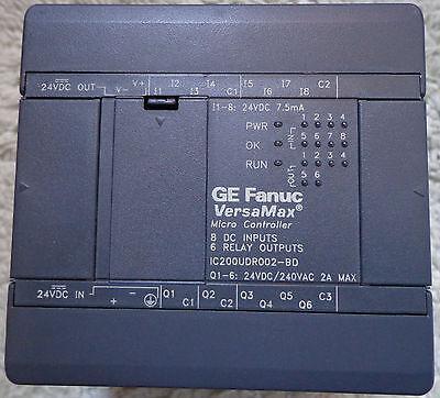 Ge Fanuc Ic200udr002-bd Versamax Micro Controller New