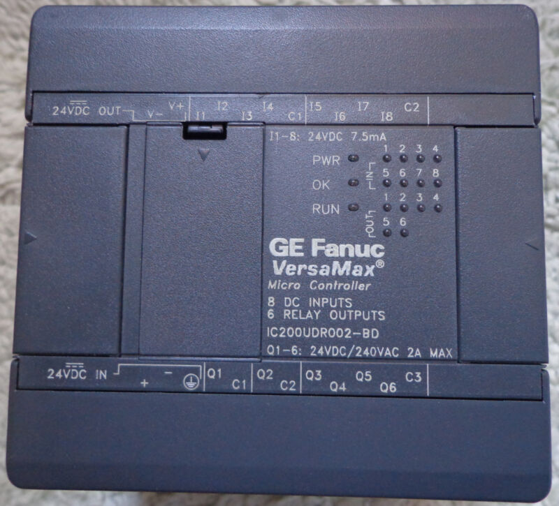 GE Fanuc,  IC200UDR002-BD, Versamax Micro Controller, NEW!!!