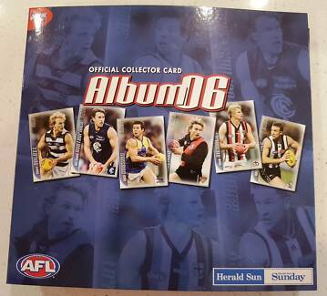 AFL Official Football card Collector set -  2006