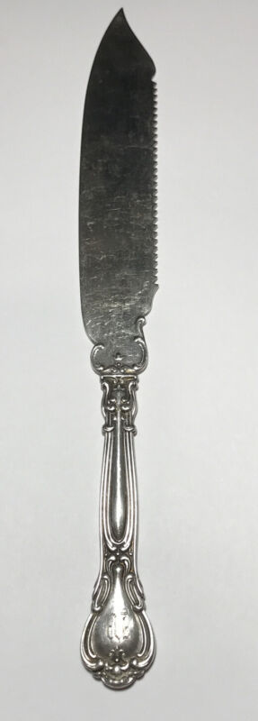 Gorham CHANTILLY Sterling Silver Cake Saw Solid Silver 1895