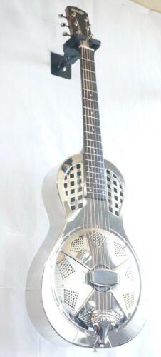 Quincy Acoustic Guitar Resonator Dobro Silver national style Son Shine slide UK