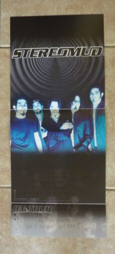 Stereomud LP Record Photo Flat 12X27 Poster