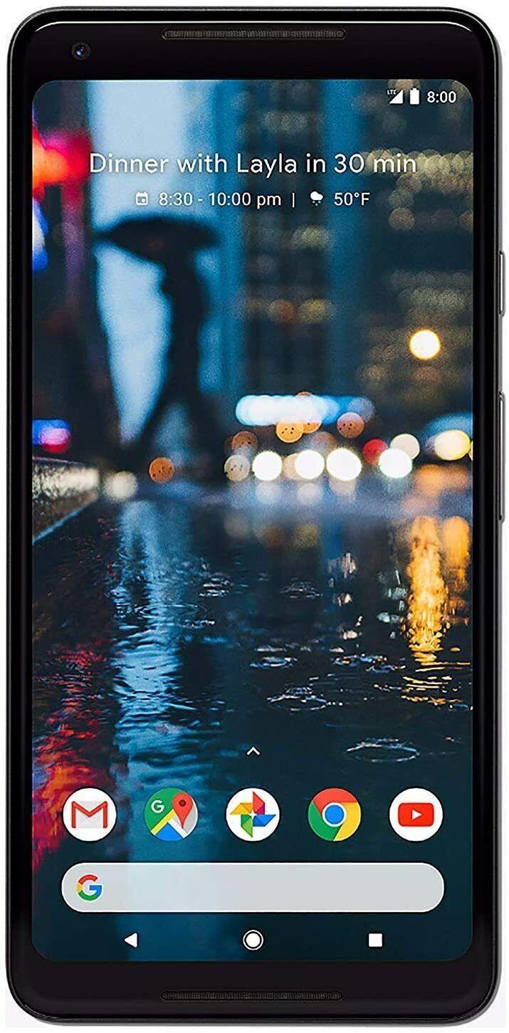 Android Phone - Google Pixel 2 XL 64GB Black Factory Unlocked Smartphone