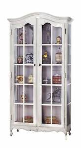 French Provincial Classic Glass Display Cabinet /Bookcase Dandenong South Greater Dandenong Preview