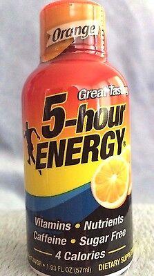 Orange Flavor 5 Hour Energy, 24 Packs (2 12-Packs), 1.93 oz/Pk, Free - 5 Hour Energy Orange