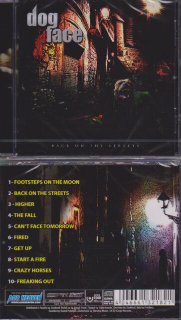 Dogface - Back On The Streets, Hard Rock,Treat, Swedish Erotica, At Vance, Reece