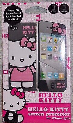 New Sealed Pack iPhone 4/4s Sakar Hello Kitty By Sanrio Screen Protector LCD Sakar Pack