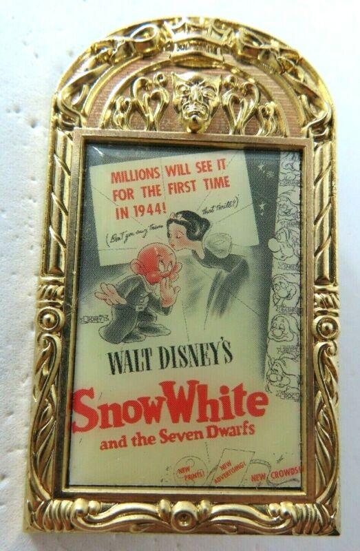 Disney Pin DSSH Surprise Release- Snow White Vintage Poster LE 300 #113882