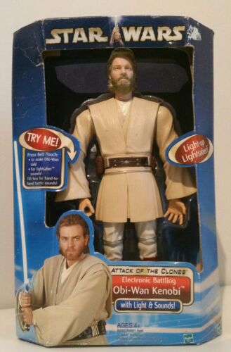 The Clone Wars Obi Wan Kenobi Vinyl Bobble-Head #31796 Funko Pop Star Wars™