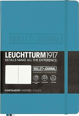 Leuchtturm1917 Bullet Journal Dotted Nordic Blue New Free Shipping